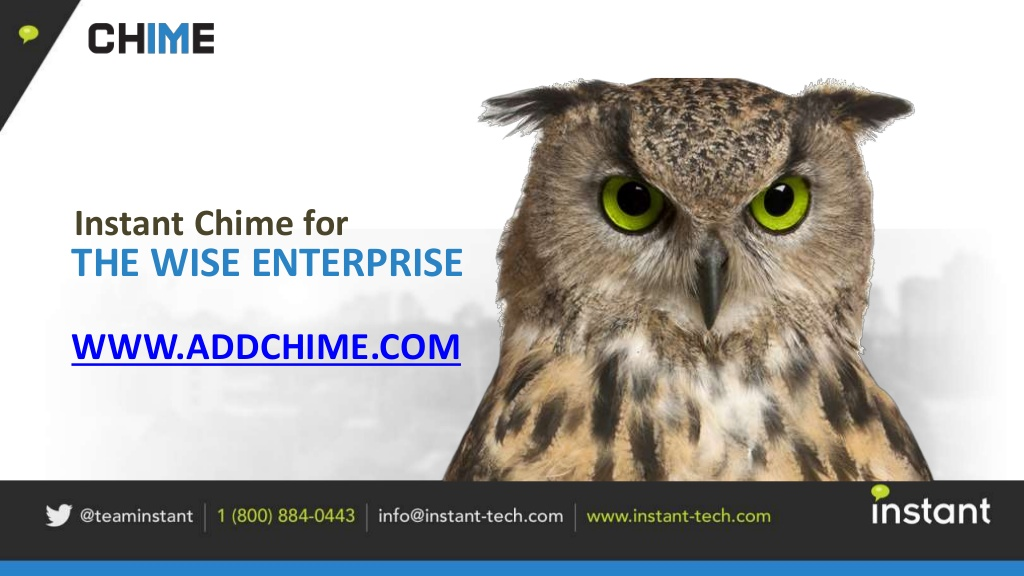 Chime for Lync Presentation